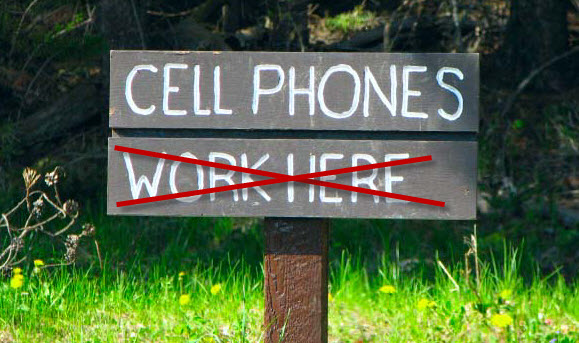 Cell Phones Work Here